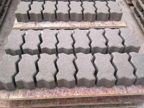 水泥联锁块地面铺设施工技术